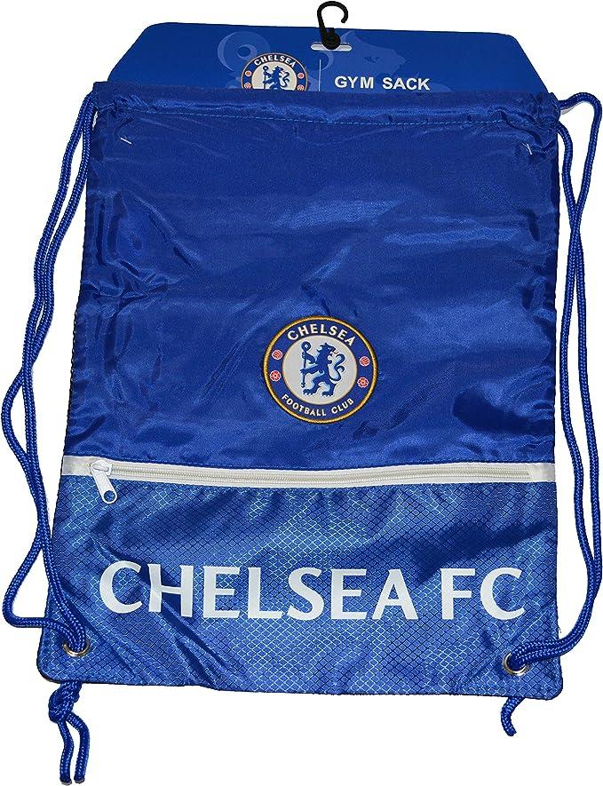 Chelsea Football Club Official Shade Drawstring Gym Bag School Swim Sport Crest