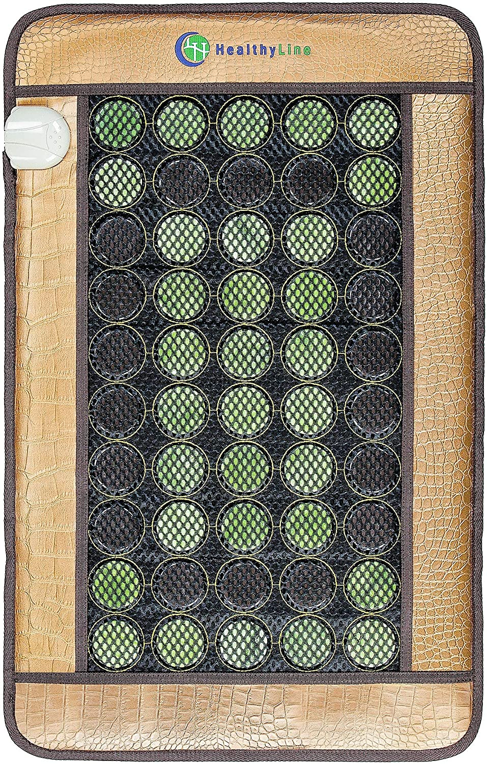 HealthyLine Far Infrared Heating Pad - Natural Jade Tourmaline - Mesh JT Pad Medium 3220 Soft InfraMat Pro®