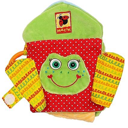 amazon com baby activity book soft books baby cloth books