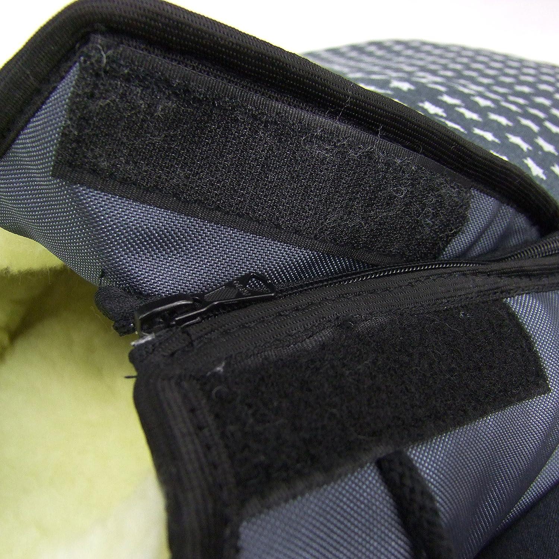Bambini MONDO Sacco Invernale per Ovetto Maxi-Cosi Cabrio Fix con lana stelle