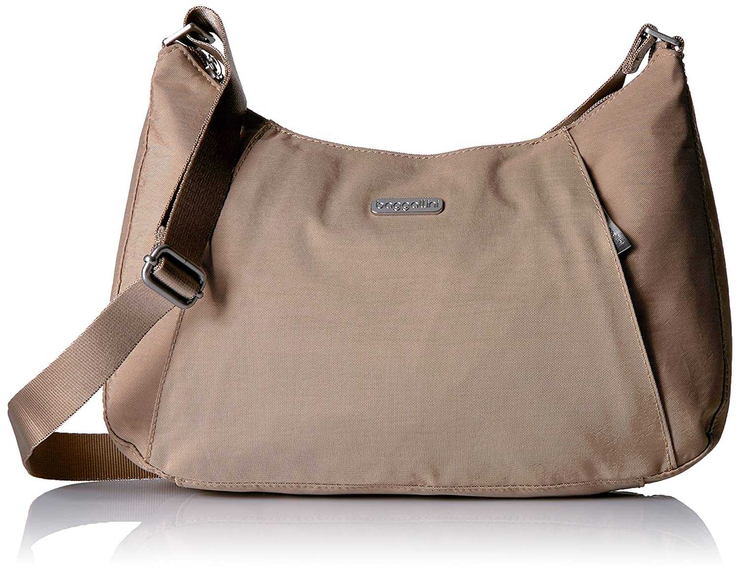 089646057f Amazon.com  Baggallini Slim Crossbody Hobo