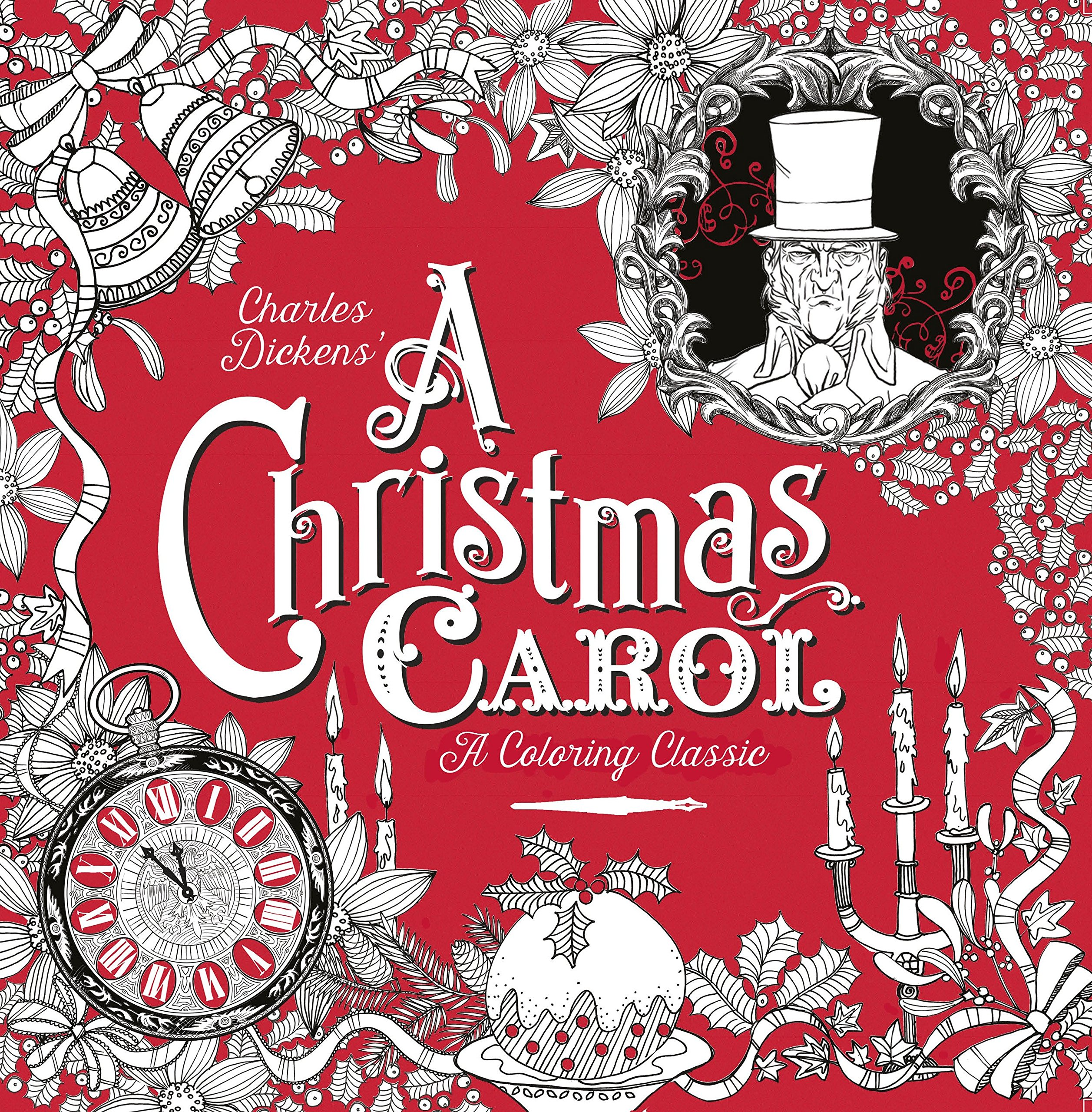 Amazon.com: A Christmas Carol: A Coloring Classic (9781524713195 ...