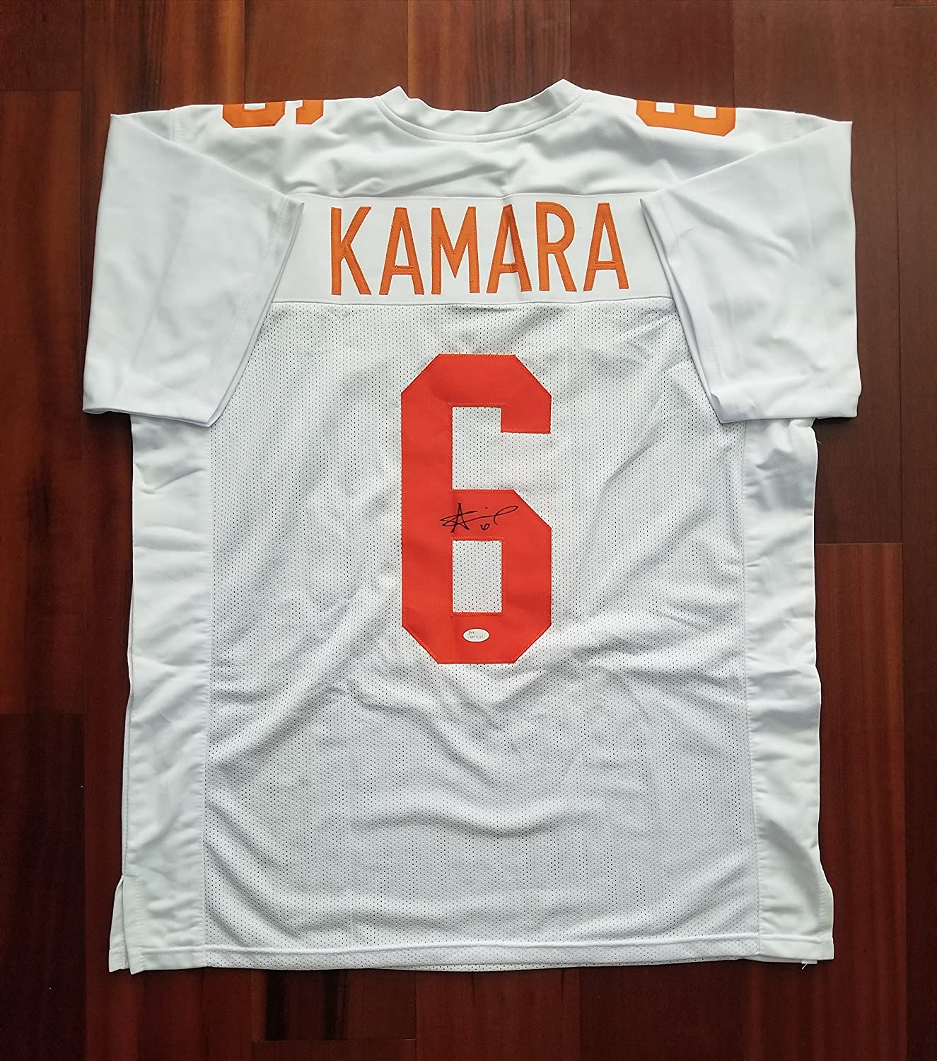 hot sale online 06301 85584 Alvin Kamara Autographed Signed Jersey Tennessee Volunteers ...