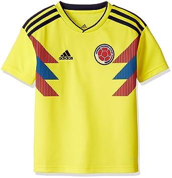 adidas Colombia Camiseta de Equipación, Niños: Amazon.es: Deportes y aire libre
