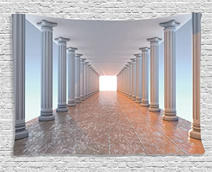 Amazon.com: ambesonne apartment decor collection corridor with