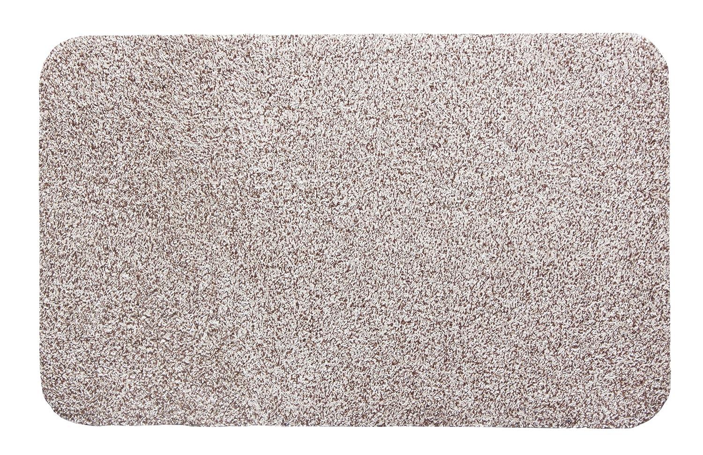 Andiamo 700602 Dirt trap mat Samson, cotton, washable at 30° celsius, 40 x 60 cm, anthracite
