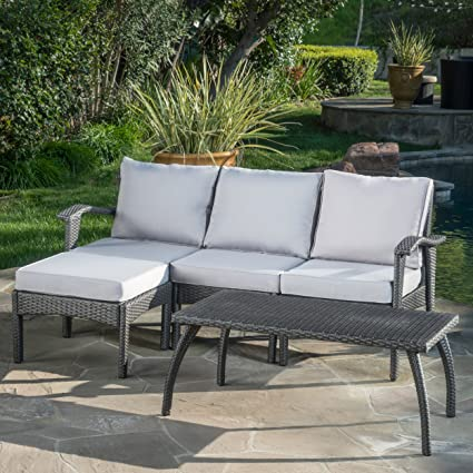 Image Unavailable. Image not available for. Color: Christopher Knight Home  Maui Patio Furniture ... - Amazon.com : Christopher Knight Home Maui Patio Furniture 5 Piece L