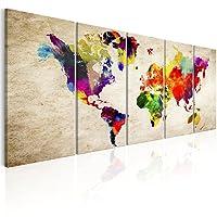 murando - Quadro Mappa del mondo