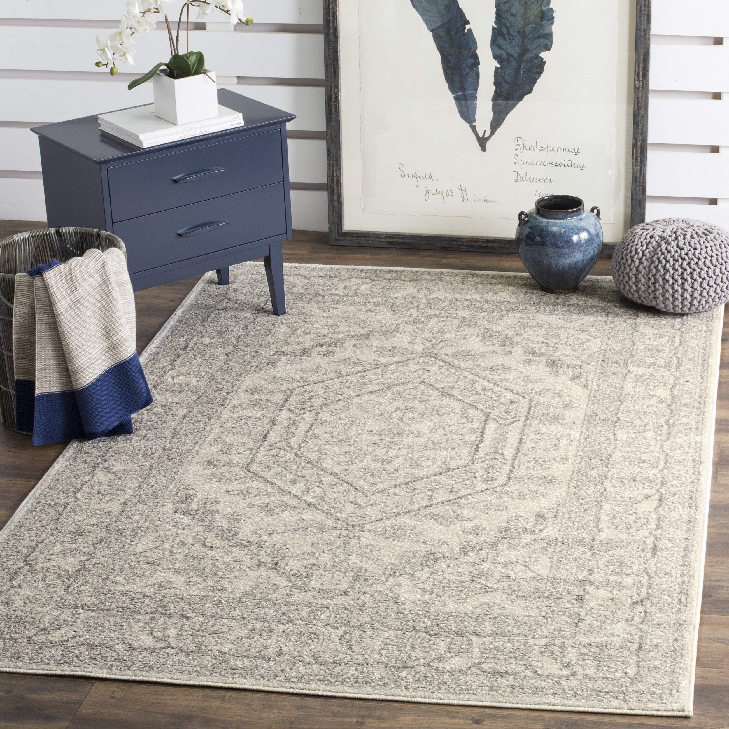 Safavieh Adirondack Collection Ivory and Silver