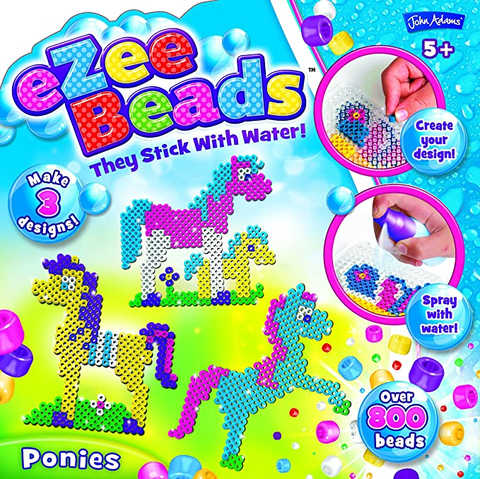 John Adams quot;Ezee Beads Ponies - Juego de manualidades con ...