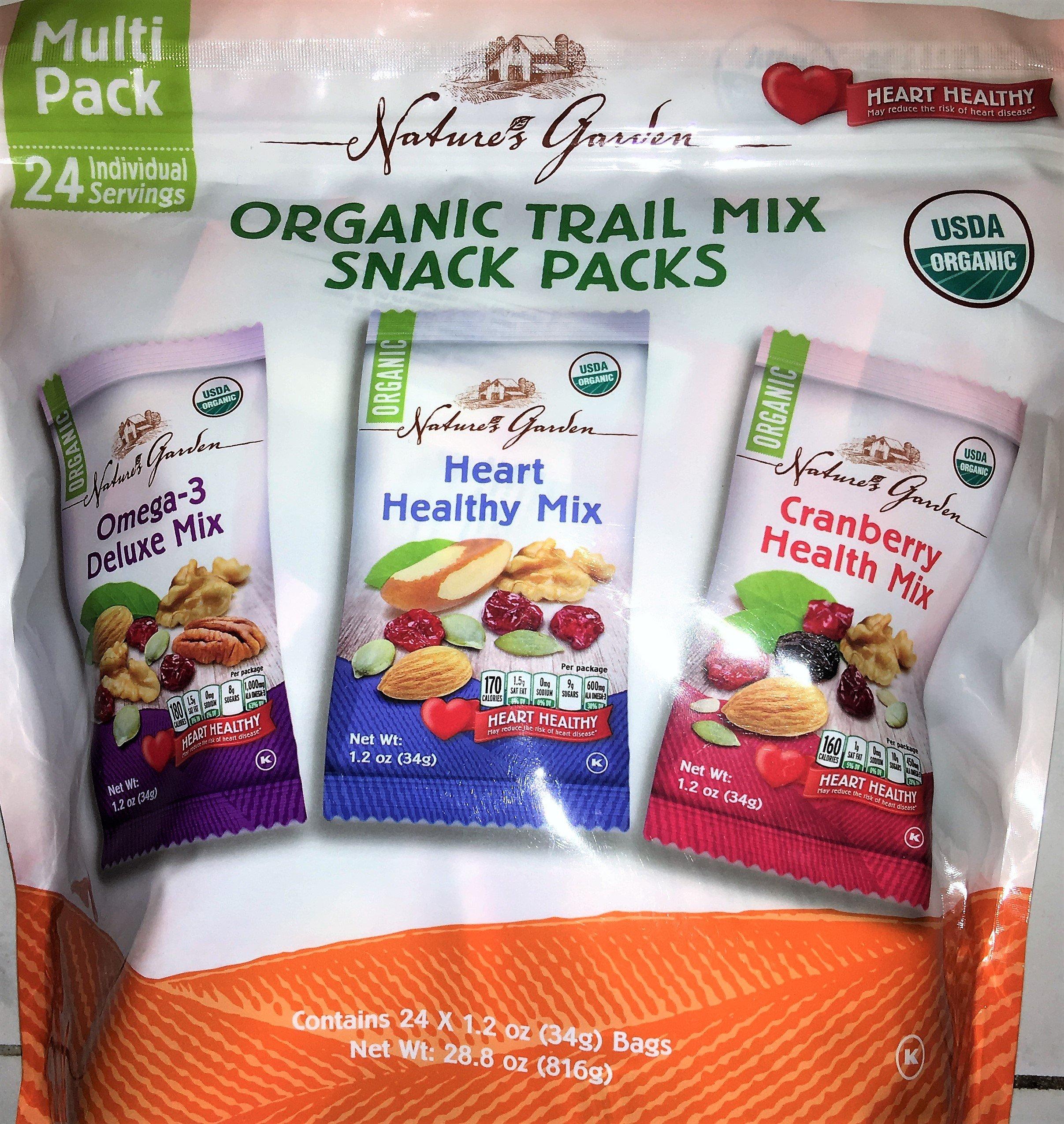 Organic snack packs