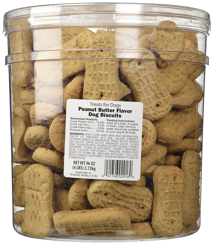 Sunshine Mills 02916 Peanut Butter Biscuit, 6-Pound