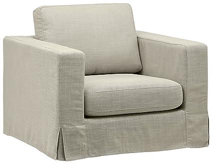 Stone U0026 Beam Bryant Modern Slipcover Accent Chair, ...
