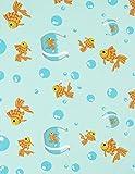 Leveret Kids Organic Cotton Fish Tank Baby Boys