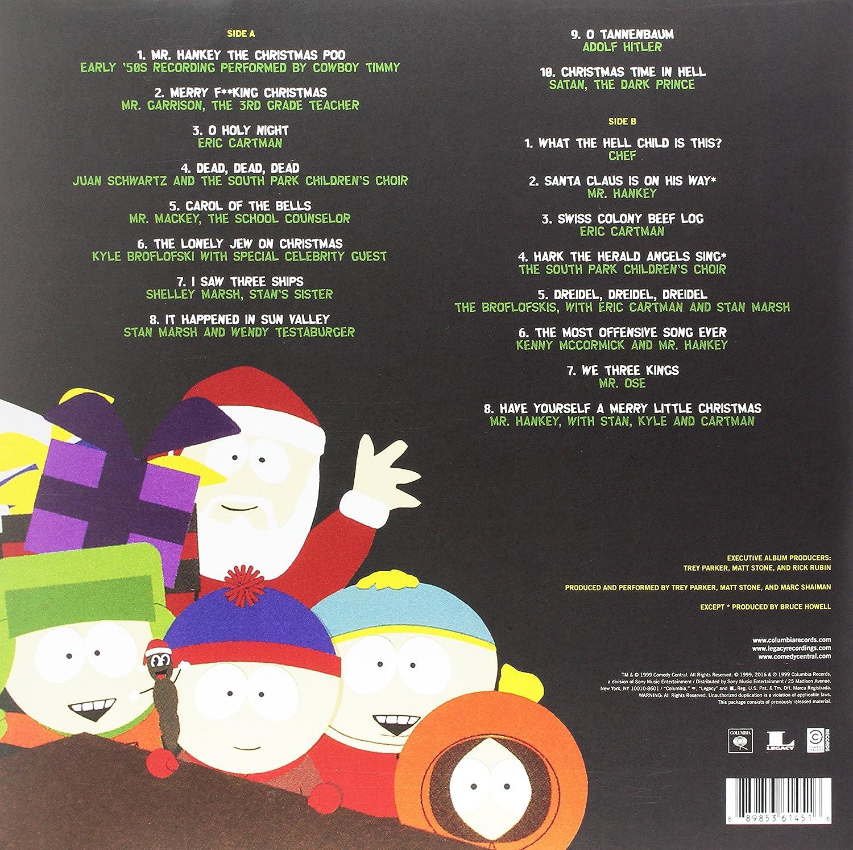 Mr. Hankey - Christmas Classics ( poo colored vinyl RSD ) - Amazon ...