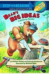 Bear's Big Ideas (Step into Reading) Paperback