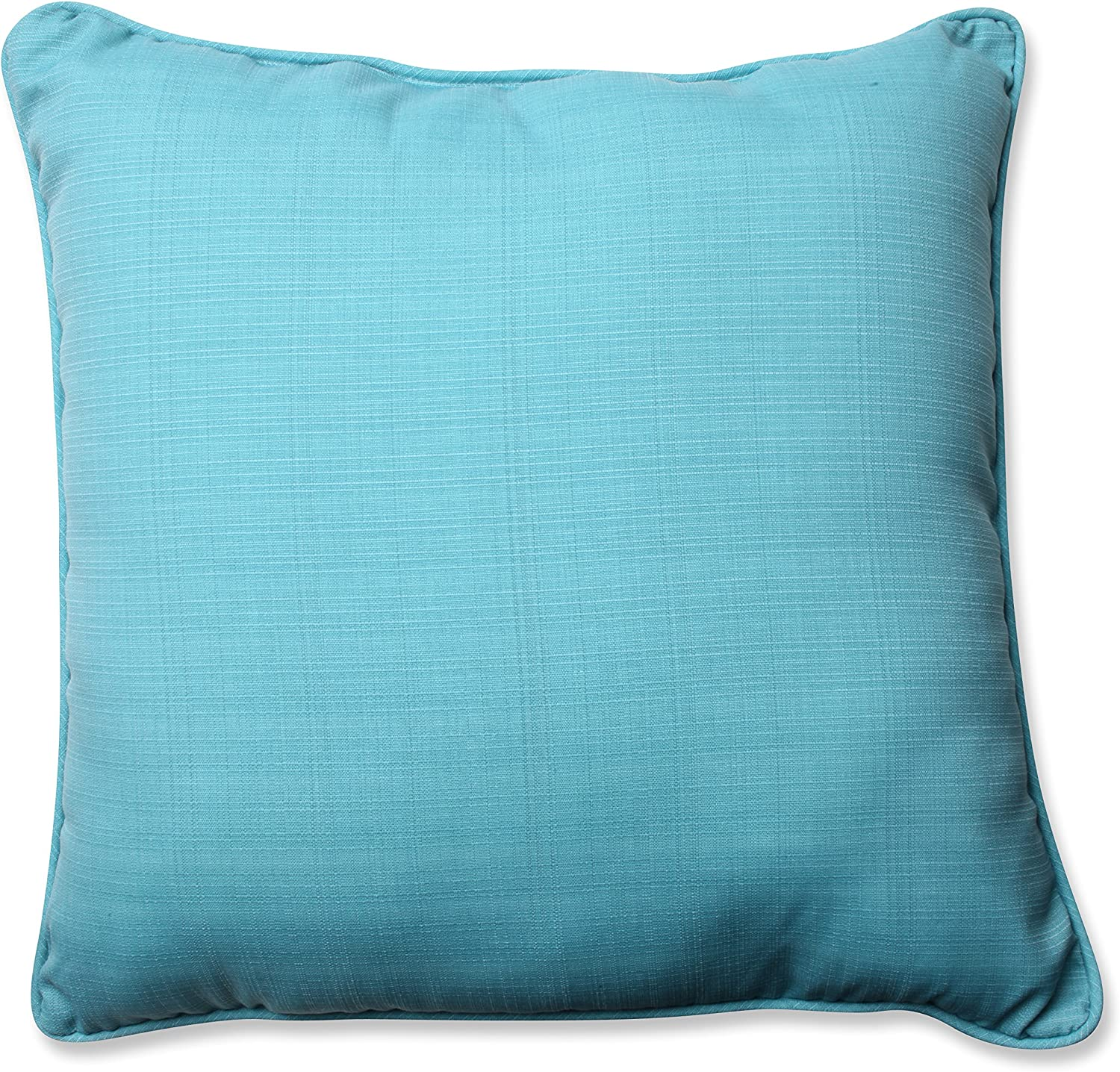 Pillow Perfect Outdoor Indoor Forsyth Pool Floor Pillow 25 X 25 Turquoise Home Kitchen Amazon Com