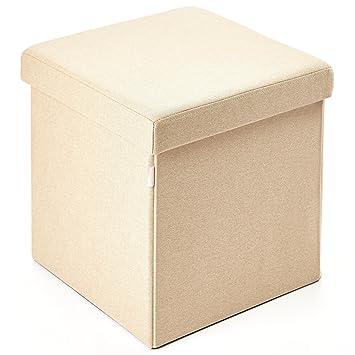 Amazon.com: Kvell Kube - Ottomán de almacenamiento, color ...