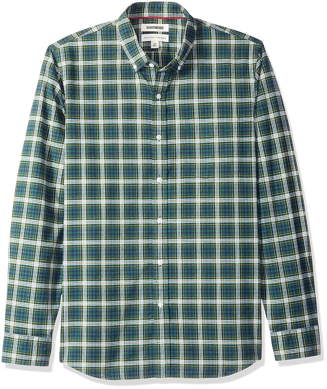 Marca Amazon - Goodthreads Standard-fit Long-sleeve Oxford Shirt - Camisa Hombre