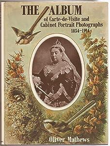 The Album Of Carte De Visite And Cabinet Portrait Photographs 1854 1914