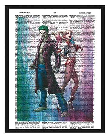 Harley Quinn Suicide Squad Movie Art Print Picture 8x10 Matted Poster U.S Seller