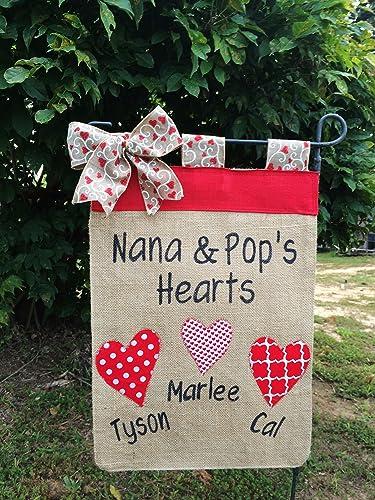 Amazon.com: Garden Flag For Grandma,Christmas Gift For Grandparents ...
