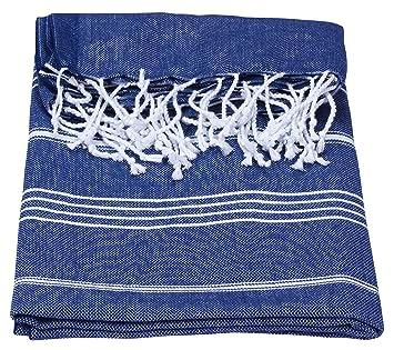 Pestemal, toalla de algodón con flecos para sauna, hammam, playa,