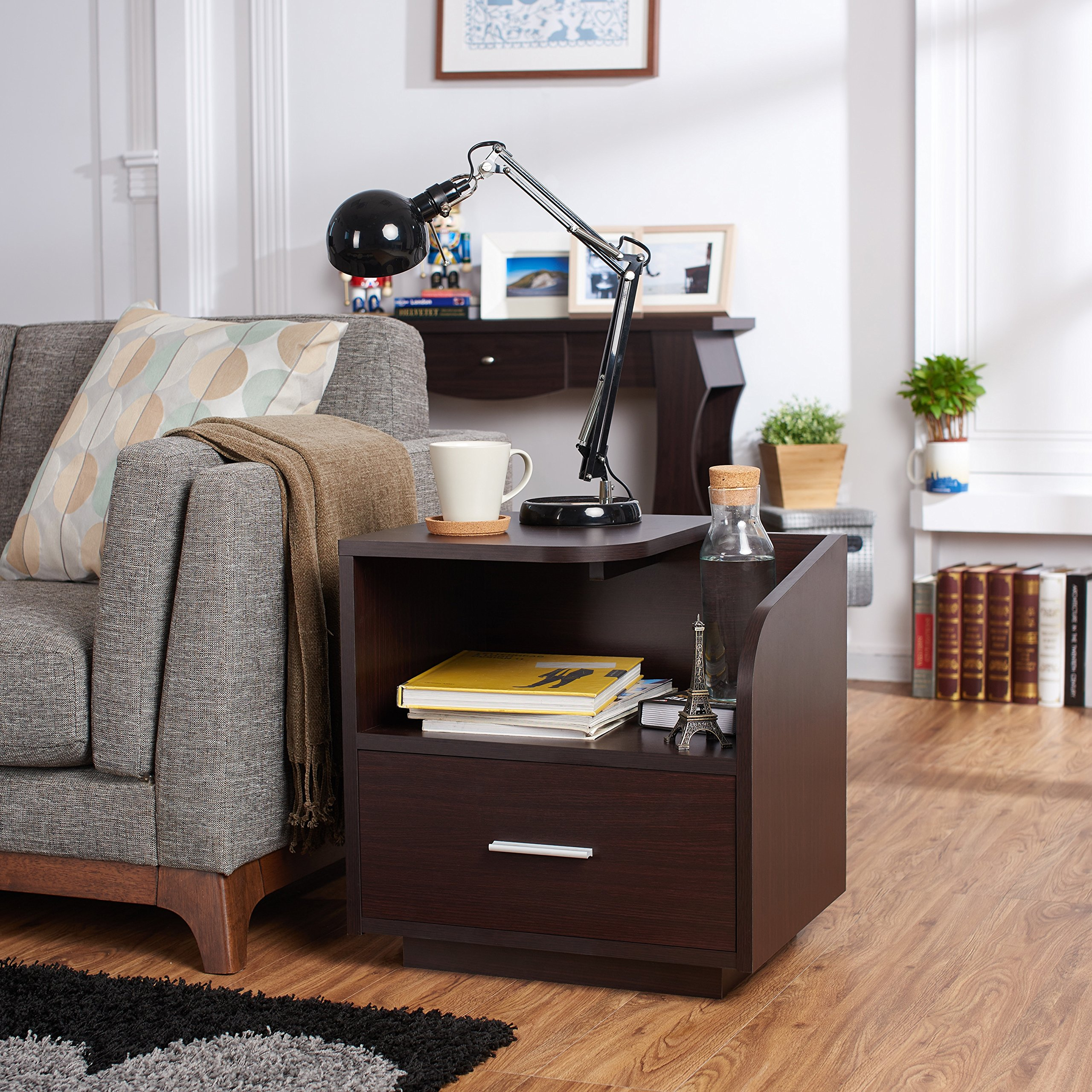 Furniture of America Corven Modern End Table