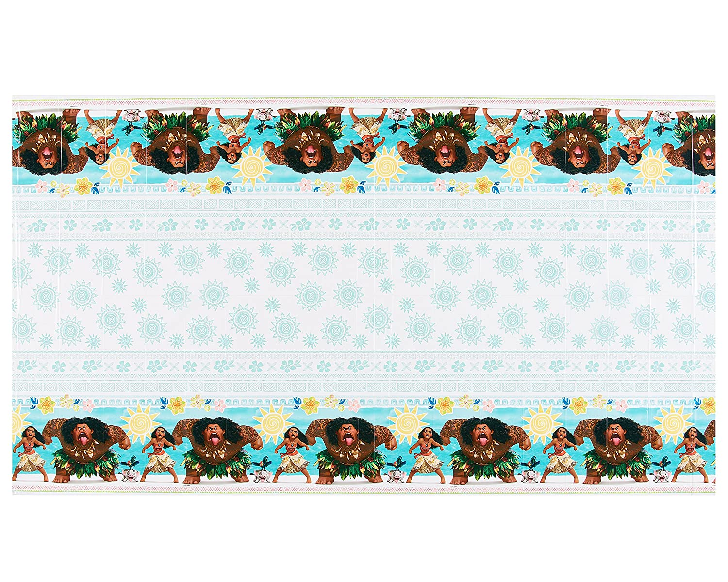 American Greetings Moana 54 x 96 Plastic Table Cover American Greetings Toys 5671277