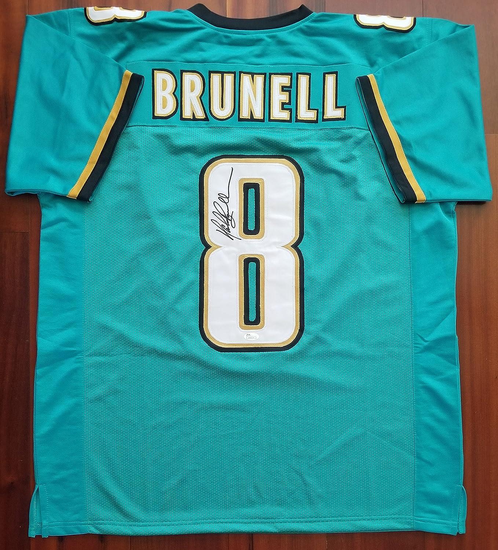 Mark Brunell Autographed Signed Jersey Jacksonville Jaguars JSA at ...