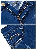 GALMINT Girls Fashion Skinny Fit Jeans Distressed