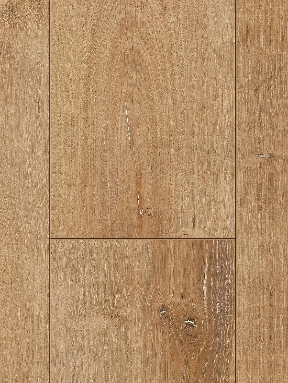 8 mm Parador Klick Laminat Bodenbelag Classic 1050 Eiche Tradition Natur Landhausdiele Eleganzstruktur Fuge 2,493m/² hochwertige Holzoptik braun//grau einfache Verlegung