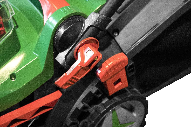 Güde 95800 Battery Powered Lawnmower 330 2 0l 450 Watts Green Baumarkt