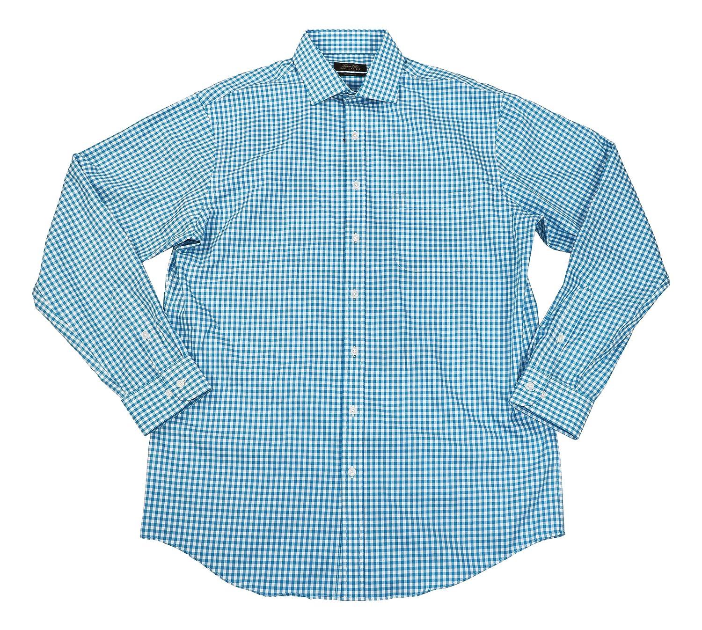 Tasso Elba Mens Button Down Plaid Dress Shirt At Amazon Mens