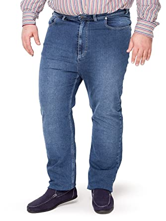 c3a5a5d5e36f Big and Tall Mens Jeans Plus Size 54 - 80 Made in Italy  Amazon.co.uk   Clothing