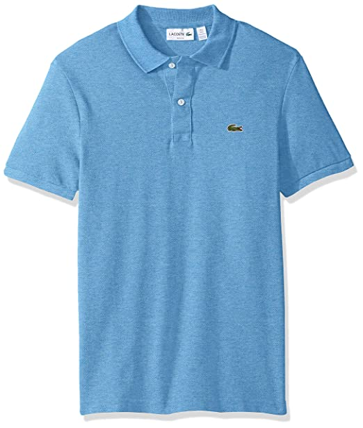 b4b0b375da4d Lacoste Men s Slim Fit Petit Pique Polo Shirt  Amazon.ca  Clothing ...