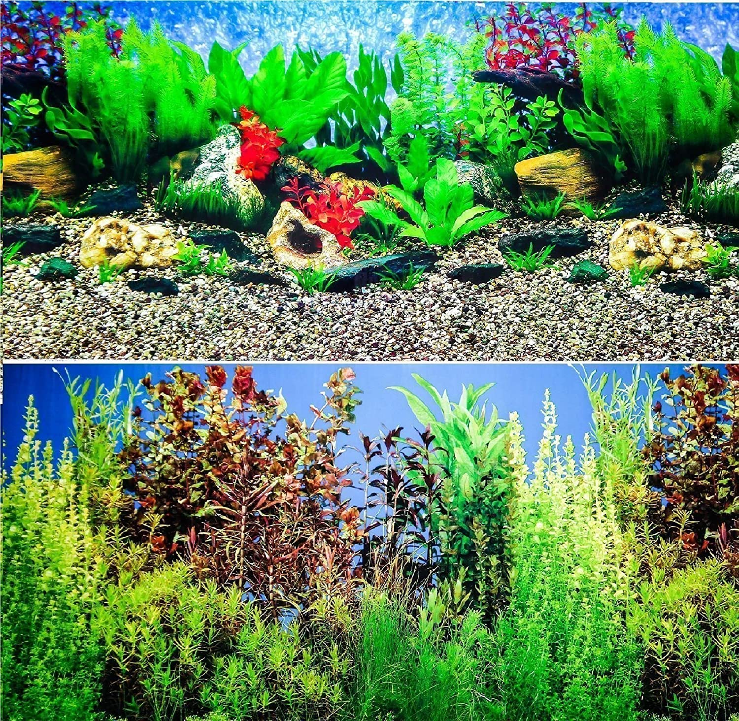 Hidom Aquarium Background - Height 19 - Length 4FT Wuhan