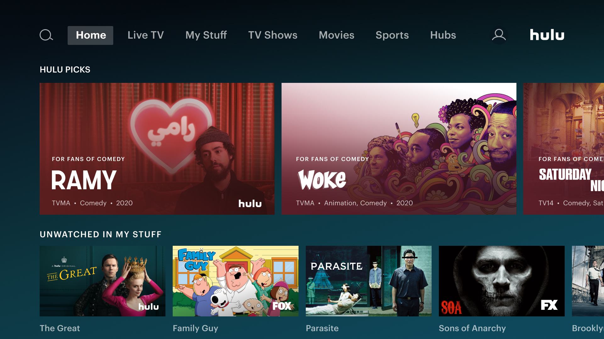 Amazon Com Hulu Live And On Demand Tv Movies Originals More Appstore For Android