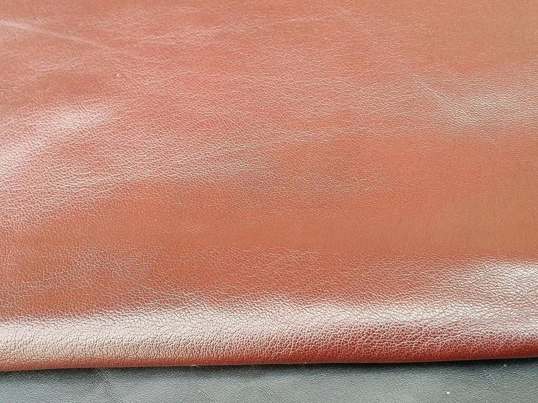 Reed Leather Hides Dark Brown Various Colors