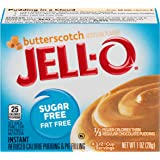 Jell-O Instant Pudding & Pie Filling, Butterscotch Sugar Free, 1 oz