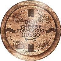 Tábua para Queijo com Ilustrações de Madeira, Euro