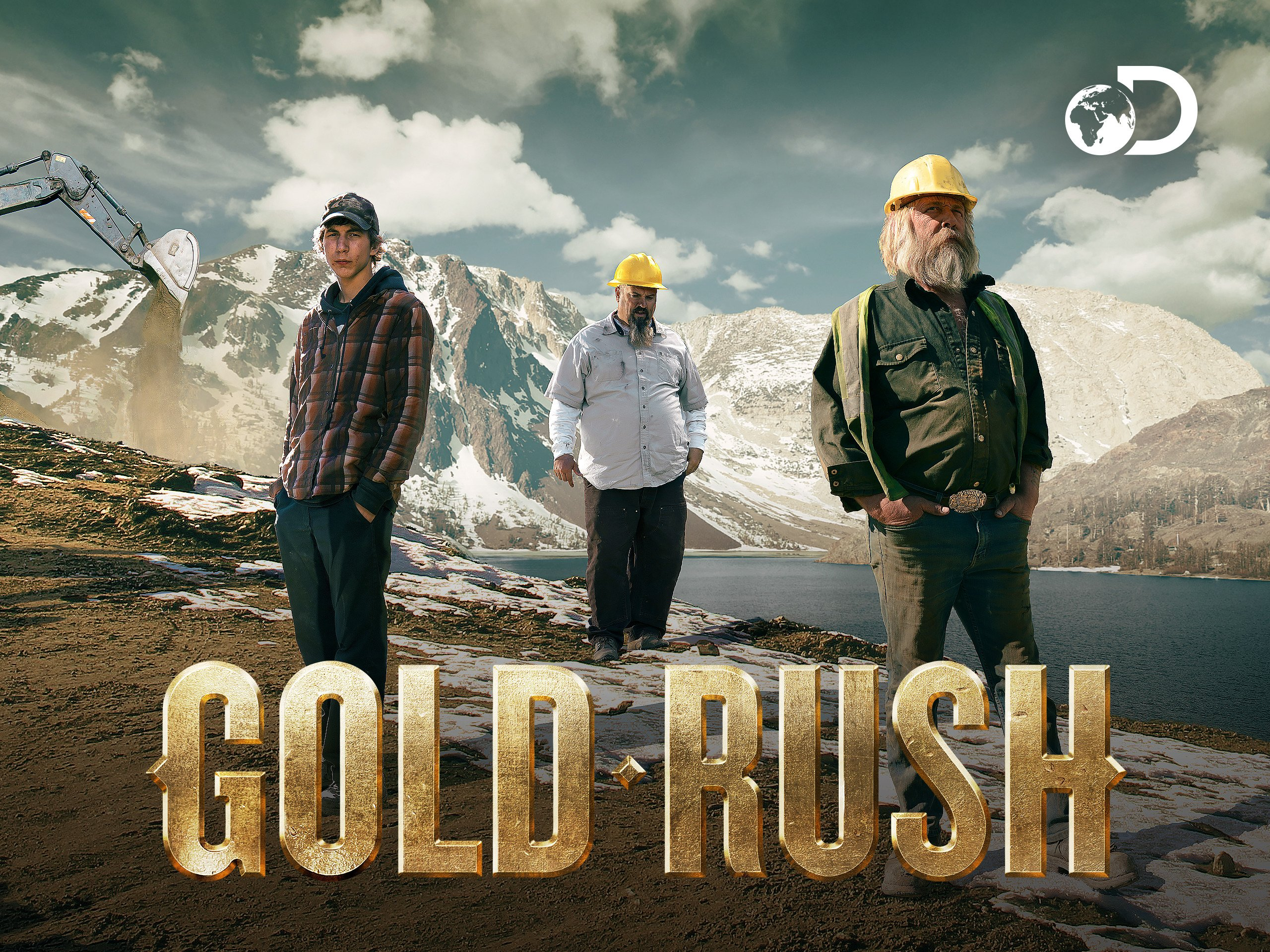 television series about boy searching for father during goldrush