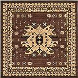 Unique Loom Taftan Collection Geometric Tribal