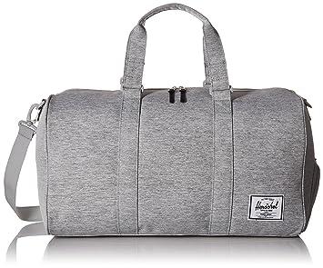 b8cbfffe9879 Herschel Novel Duffle Bag, Light Grey Crosshatch, One Size