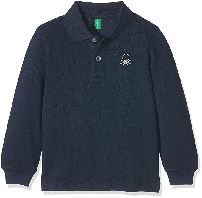United Colors of Benetton 3089C3302, Polo para Niños, Azul (Navy ...