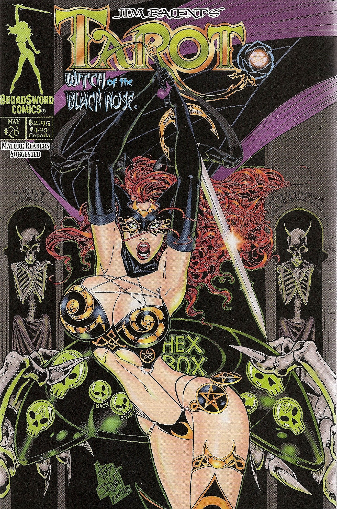 Tarot Witch of the Black Rose Cover B Number 26 (Rest in Peace Skeleton Man, 1) pdf epub