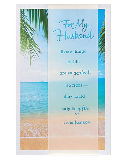 Amazon american greetings religious beach fathers day card american greetings religious beach fathers day card for husband with foil 6051620 m4hsunfo