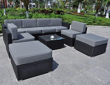 Amazon.com: mcombo 6082 9pc tamaño más grande muebles al ...