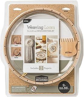 5 Pieces Circular Trimits Weaving Looms Assorted Wood
