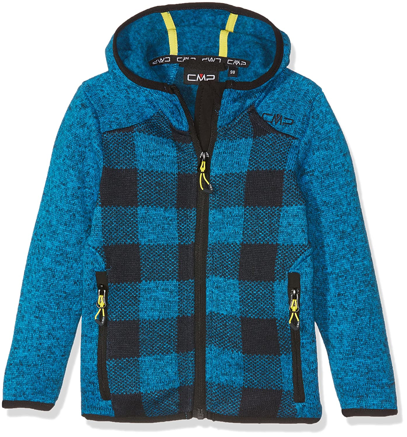 CMP Boys' Strick Fleece Jacke 3h24074 Jacket CMPA8|#CMP